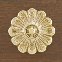 Colton Doorbell, polished brass