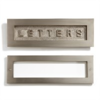 Contemporary Brass Mail Slot