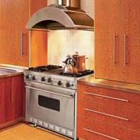 Contemporary Custom Design Stovetop Hood