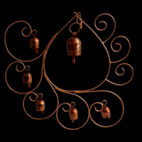 Copper Droplet Windchime