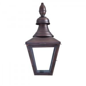 Copper Gas Lantern, dark