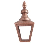 Copper Gas Lantern, mottled