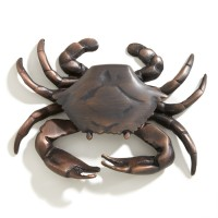 Crab Door Knocker, bronze