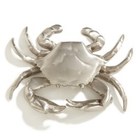 Crab Door Knocker, nickel