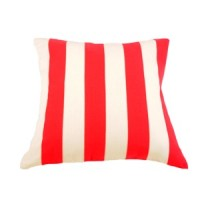 Cushion Cover With Pink Stripes