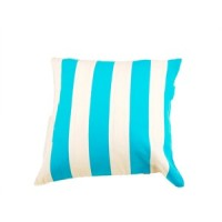 Cushion Cover with Blue Stripes