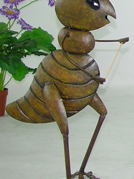 Dancing Cricket Garden Decor