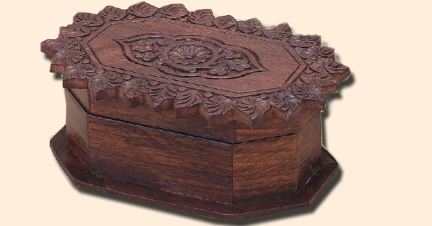Decorative Box with Latch, 6 inches x 4 inches