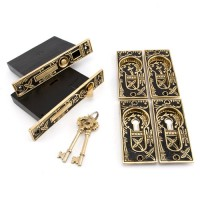 Double Pocket Door Mortise Lock