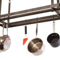 Flat Top Hanging Pot Rack
