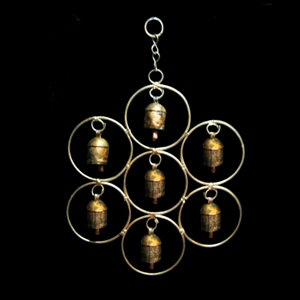 Flower of Life Windchime