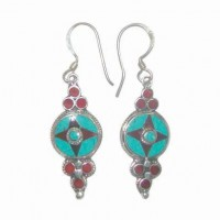Four Points Nepali Earrings