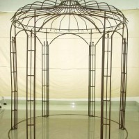 French Wrought Iron Gazebo