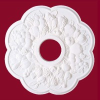 Fruits de la Terre Ceiling Medallion