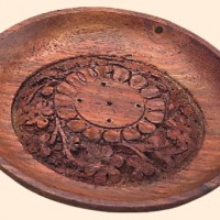 Full Moon Incense Tray