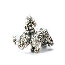 Ganesh Riding Elephant Statue