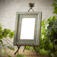 Garden Easel Photo Frame, 4x6