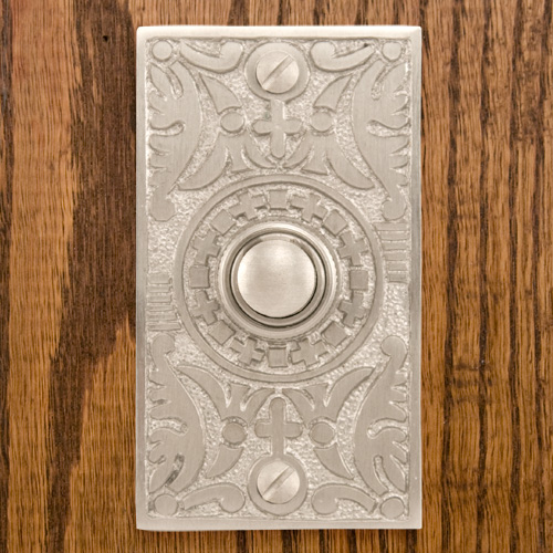 Goddess Doorbell, nickel