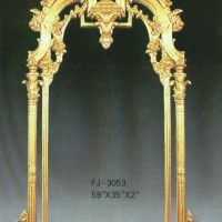 Golden Arches Mirror Frame