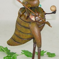 Golf Player Cricket Garden Decor