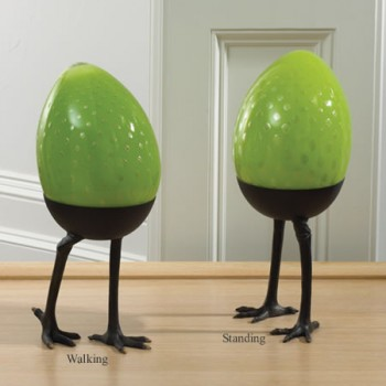 Green Egg on Legs-Walking