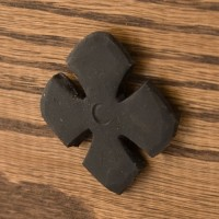 Hand-Forged Iron Petal Flower Nail