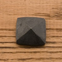 Hand-Forged Iron Square Pyramid Clavo
