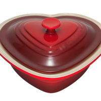 Heart of Stoneware Baking Dish