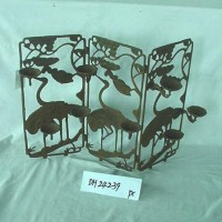 Heron Screen Candle Holder
