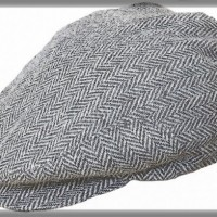 Herribone Messenger Cap