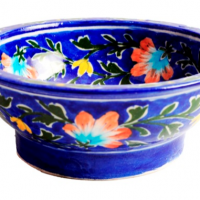 Imperial Blue Ceramic Bowl