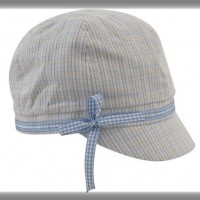 Kids Microcheck News Hat