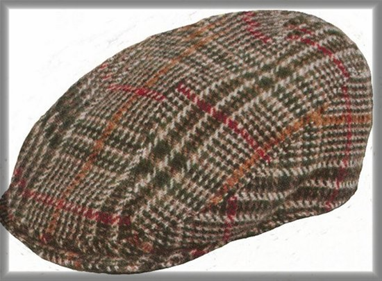 Kids Plaid Wool Paddy Hat