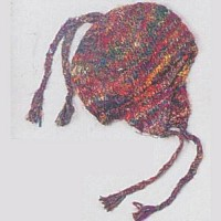 Knit Silk Sherpa Hat