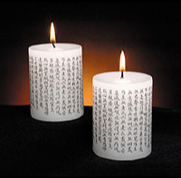 Kuan Yin Heart Sutra Candles