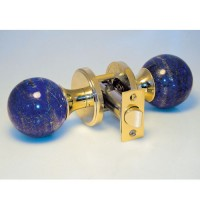 Lapis Door Knob Set, detail