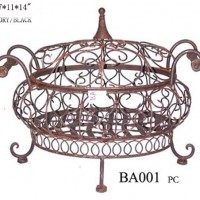 Large Wrought Iron Serving Dish