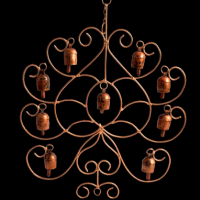 Leaf Shaped Windchime