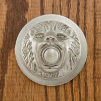 Lion Mouth Doorbell, nickel