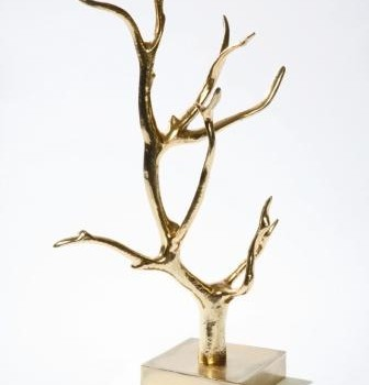 Manzanida Jewelry Tree, gold