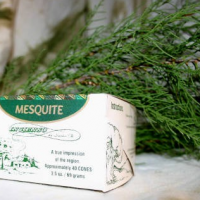 Mesquite Incense, 40 Bricks