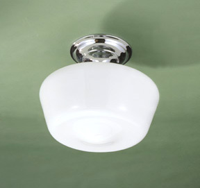 Molded Glass Ceiling Light