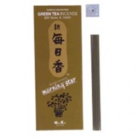Morning Star Stickless Incense, Green Tea
