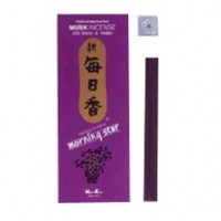 Morning Star Stickless Incense, Musk