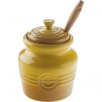 Mustard Jar with Spreader