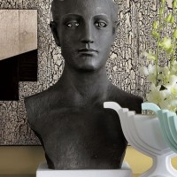 Neo-Classical Iron Bust