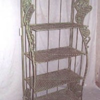 Outdoor Iron Shelves