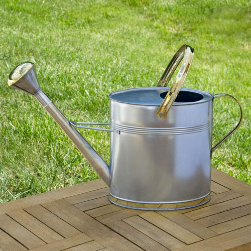 Oval Galvanized Steel Watering Can