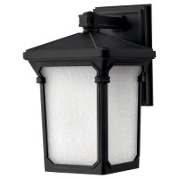 Oxford Wall Lantern, black