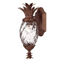 Pineapple Wall Sconce, copper